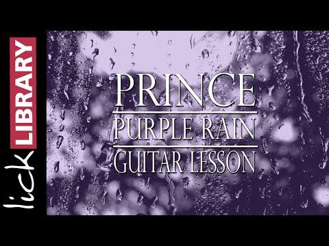 Prince Purple Rain Guitar Lesson