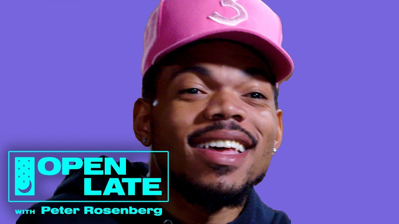 Chance the Rapper On Kanye West, Donald Glover and New Music | Open Late with Peter Rosenberg