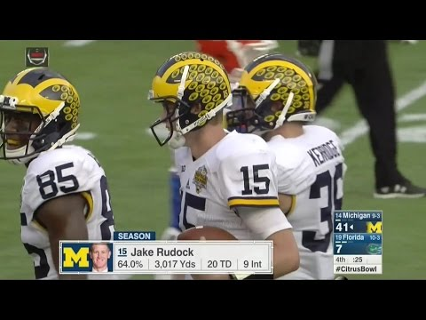 2016 Citrus Bowl Highlights Michigan vs Florida