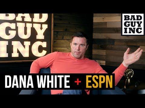 Dana White criticized for the ESPN deal...