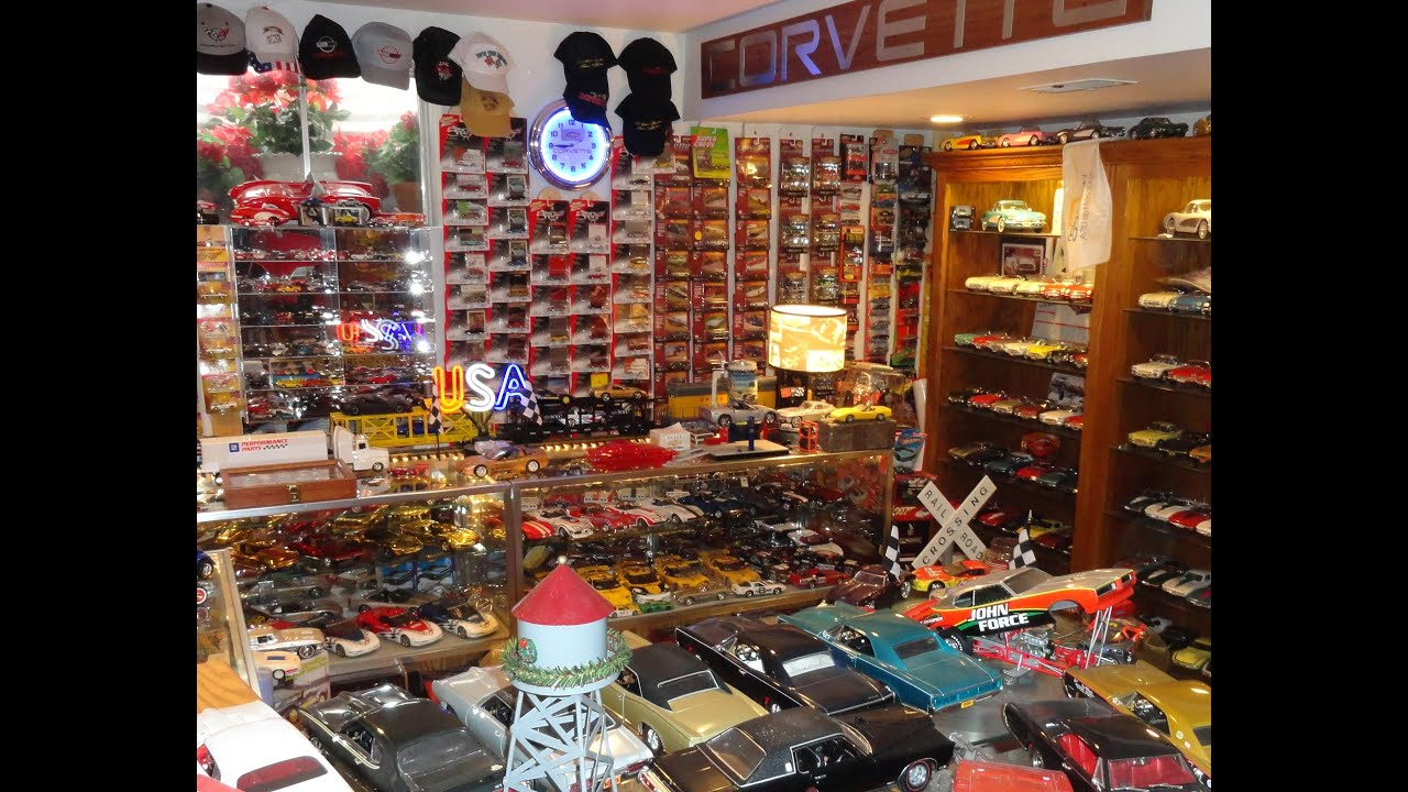 great garage shop ideas - Greatest Private Corvette Die Cast Model Cars Collection