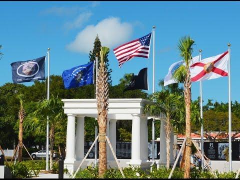Vietnam Living Memorial Dedication Ceremony Key West, FL