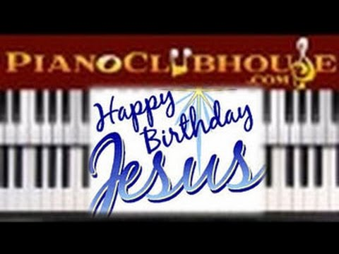 Happy Birthday Jesus Easy Christmas Piano Tutorial Lesson Youtube