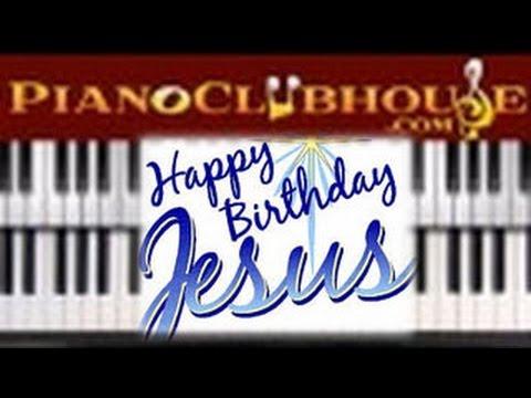 Happy Birthday Jesus Easy Christmas Piano Tutorial Lesson Youtube
