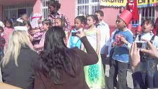 Hüseyin Gazi İlköğretim okulu okuma bayramı etkinlikler 1