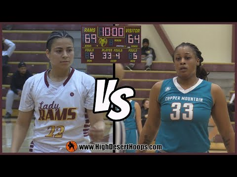Victor Valley College vs Copper Mountain College| Women - 11