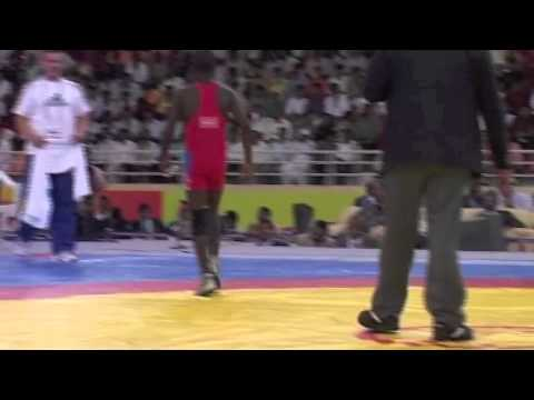 2008 Commonwealth Youth Games: 50 kg Lucas Thomas (NAM) vs. Steven Takahashi (CAN)