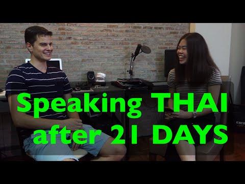 Speaking Thai after 21 Days in Thailand