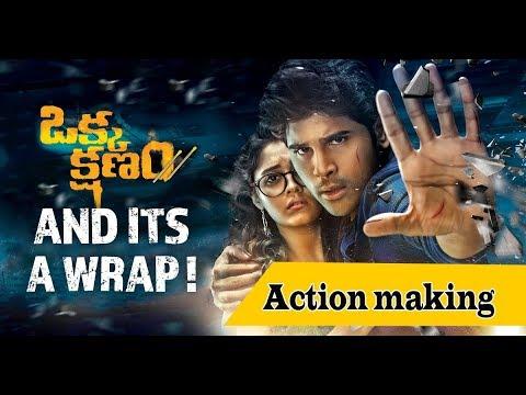 OKKA KSHANAM movie making video LEAKED by...