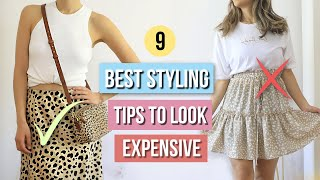 9 Best Styling Tips Every Girl Should Know To Look Chic! Early Fall Outfit Ideas