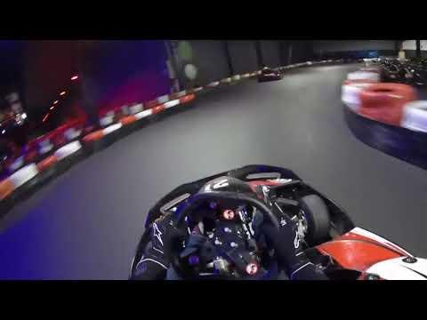 Karting JMK Namur, 01/03/18, première fois sur cette piste, Pilote 20-100