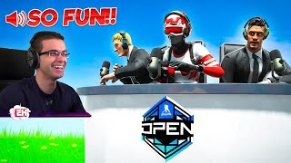 I just commentated an OFFICIAL Fortnite + NHL Tournament!!