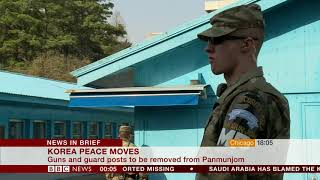Peace moves (North & South Korea) - BBC News - 23rd October 2018