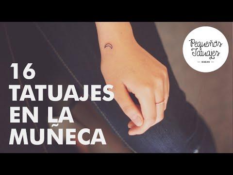 16 Pequeños Tatuajes en la Muñeca