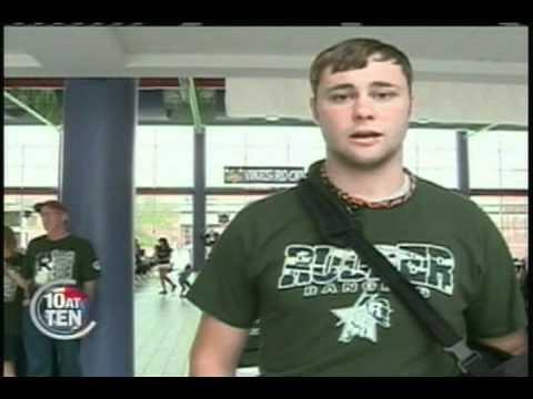 David Wilganowski Returns to School 9-16-11