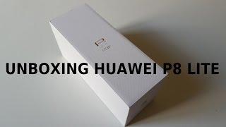 Huawei P8 Lite unboxing e test Antutu Benchmark