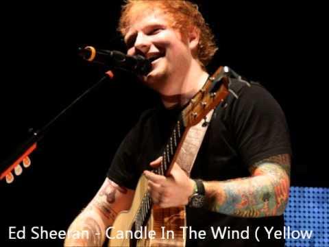 Ed sheeran - Candle In The Wind (Elton John - Yellow Brick Road)