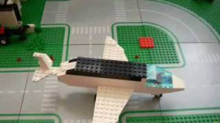 Lego City - movie; drift, airport