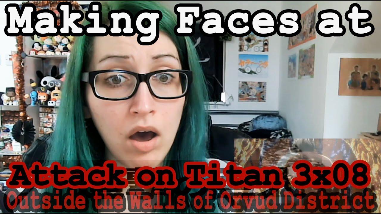 Attack on Titan 3x08 Reaction~ - YouTube