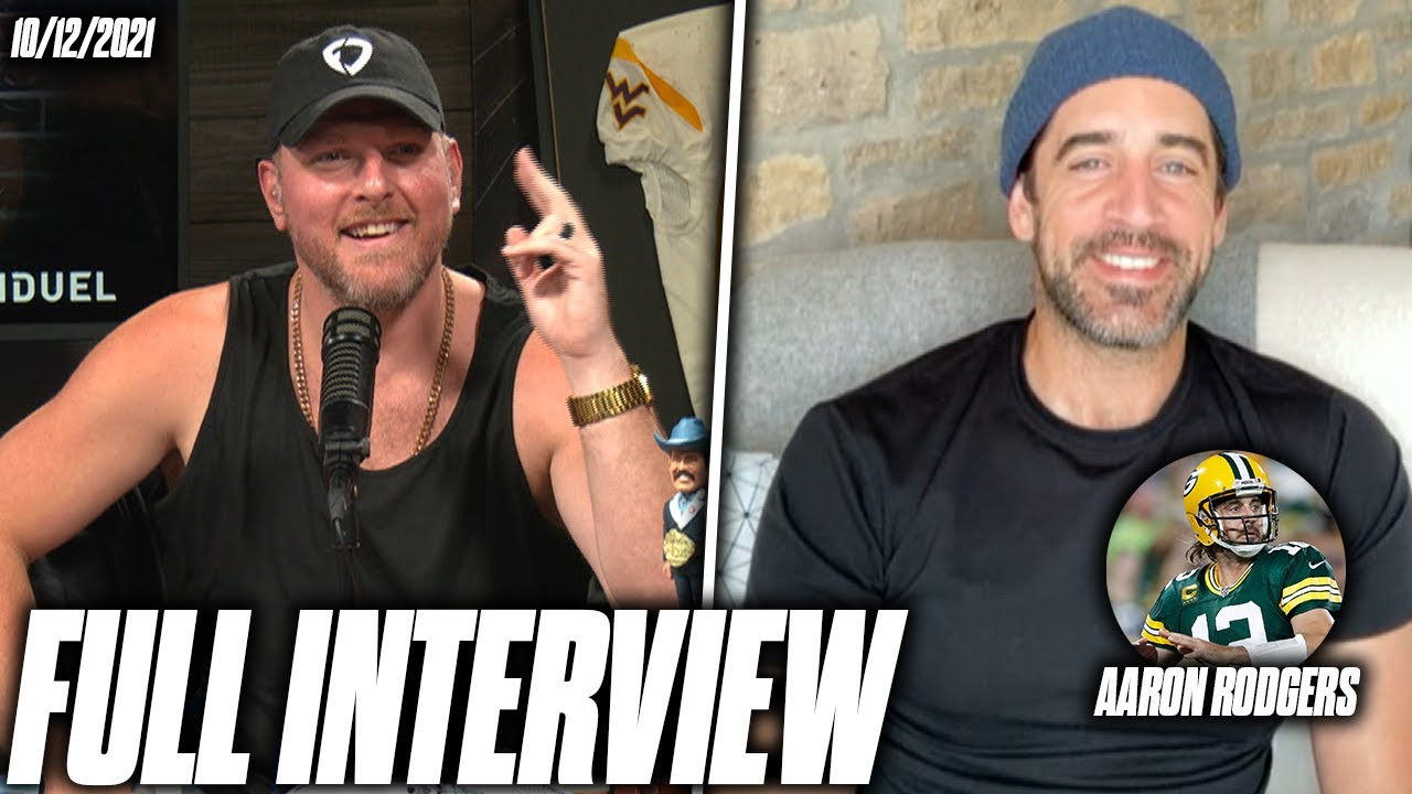 Download Aaron Rodgers & Pat McAfee Talk QBs Knowing When To Quit, UFOs, And More