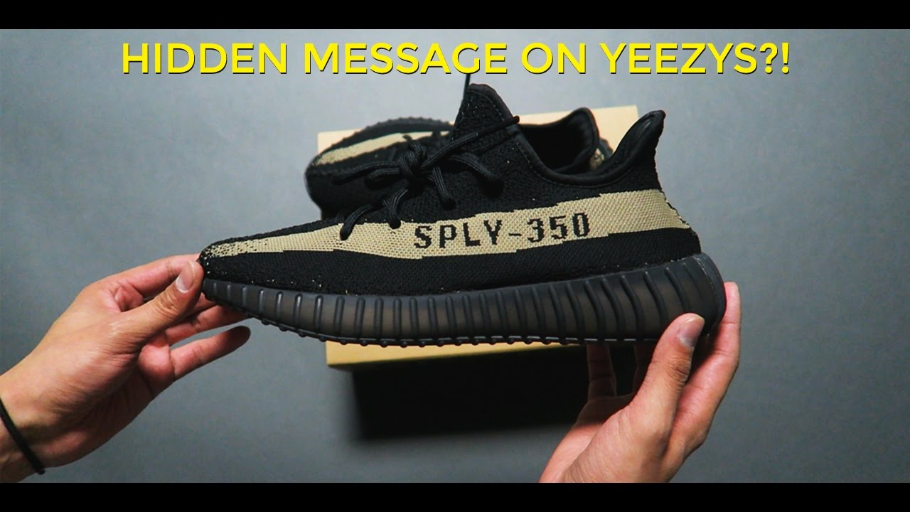 Adidas Yeezy Boost 350 V2 Black with White Stripe Newest Version