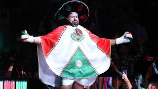 Tyson Fury's epic ring walk in full on Mexican Independence Day | Fury v Wallin
