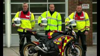 East Sussex Fire and Rescue Fire Bike Promotional Video