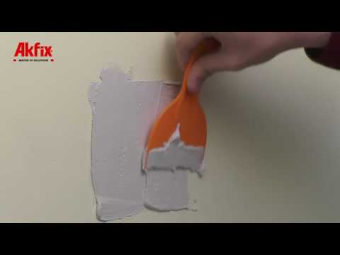 How To Fix A Hole In The Wall-Akfix Wall Repair Patch Kit