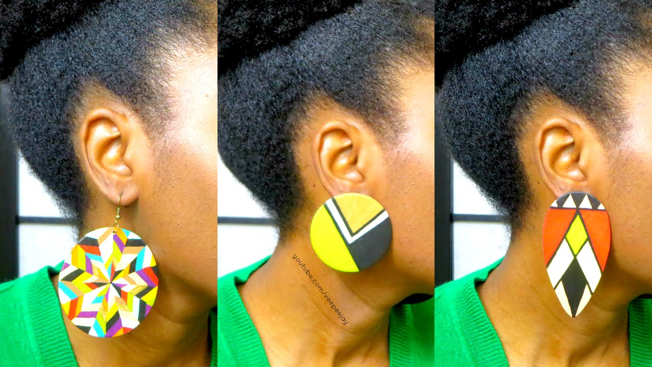 Living Queens Hand Painted Earrings  Discount Code + Giveaway (closed)