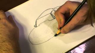 How to Draw a Corvette Z06
