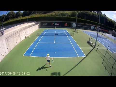Tennis college Recruiting Video- Guilherme Valdoleiros Usports-cm