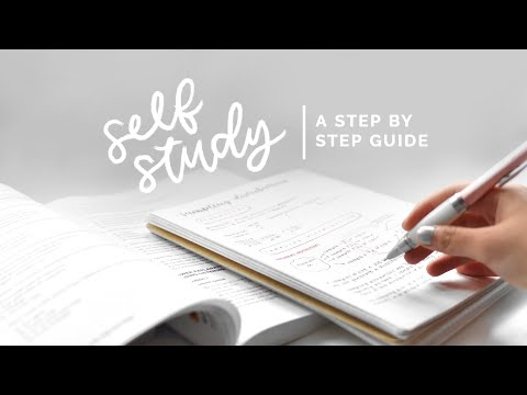 how to self study 📚 a step by step guide