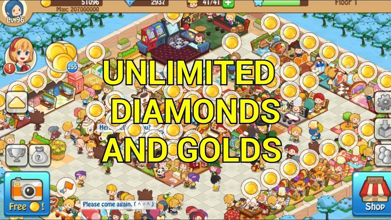 How To Get Unlimited Diamonds In Happy Mall Story Sim Game Youtube