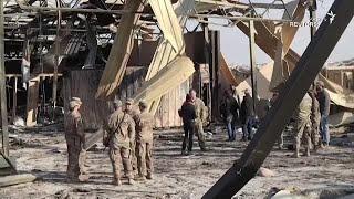 حمله راکتی به پایگاه نیروهای آمریکایی در عراق