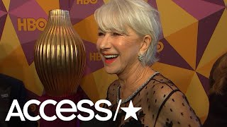 Helen Mirren Explains Why She Thinks Oprah Winfrey Should Run For President!  | Access