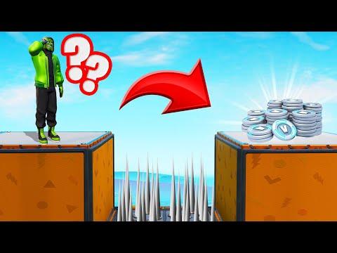 DON'T JUMP To WIN 10,000 V-BUCKS! (No-Jump Deathrun)
