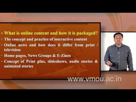 Online  Journalism | Dr Harish Kumar