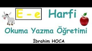 1 Okuma Yazma Öğreniyorum 39;e39; Harfi