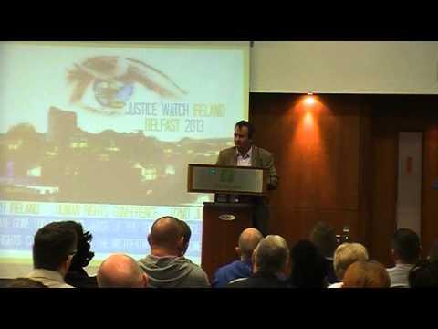 Gerry Conlon Closing Speech at Justice Watch Ireland Conference