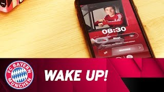 FC Bayern-Stars wecken jetzt per Wake Up Call