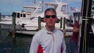 Interview with Robin Team, owner of J/122 Teamwork, at Quantum Key West 2014