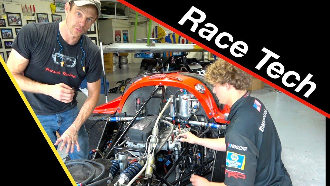 Prospect racing mechanic builds epic race car