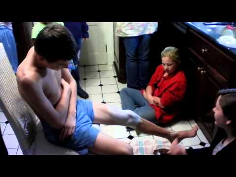 11/14/2012 Swim Team Shaving Party video 5 thumbnail