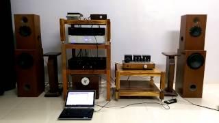3 Ways Speakers Diy - Musical Fidelity A1000
