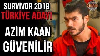 Azim Kaan Güvenilir | Survivor 2019 Türkiye - Yunanistan