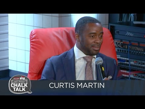Chalk Talk with Curtis Martin