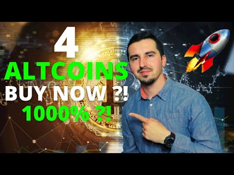 Top 4 Altcoins I'm Buying Now 🚀| CRYPTO May 2021| 1000% ?! MASSIVE POTENTIAL?!| HUGE GAINS ?!🔥