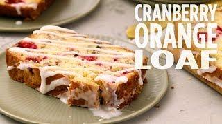 How to Make Cranberry Orange Loaf  Thanksgiving Recipes  Allrecipes.com
