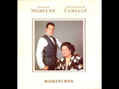FREDDIE MERCURY & MTSERRAT CABALLÉ BARCELA FULL ALBUM  LP VINYL RIP 1988