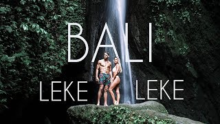 BALI'S MOST UNDERRATED WATERFALL - LEKE LEKE WATERFALL BALI